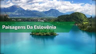 Vídeo Mostrando As Belezas Naturais Da Eslovênia, Veja Que Lugar Lindo!