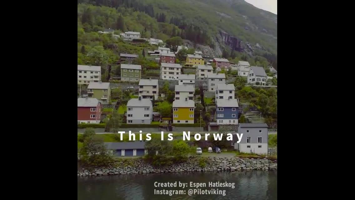 Vídeo mostrando as belezas naturais da Noruega veja que lugares lindos