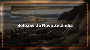 Vídeo Mostrando As Belezas Naturais Da Nova Zelândia, Veja Que Lugar Magico!