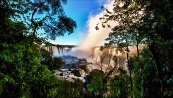 Vídeo Mostrando As Belezas Naturais De Foz Do Iguaçu, Vale A Pena Conferir!