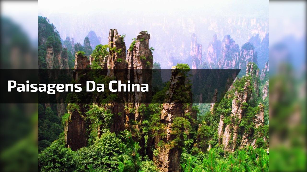 Paisagens da China