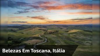 Vídeo Mostrando As Mais Belas Imagens De Toscana Na Itália!
