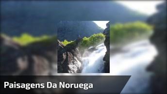 Vídeo Mostrando As Maravilhosas Paisagens Da Noruega, Veja Que Lugar Incrível!