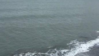 Vídeo Mostrando As Ondas Do Mar, Este Som É Muito Relaxante!