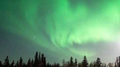 Vídeo Mostrando Aurora Boreal, Veja Que Lindas Estas Imagens!