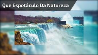 Vídeo Mostrando Cataratas No Niagara, Veja Que Espetáculo Da Natureza!