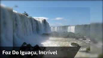 Vídeo Mostrando Foz Do Iguaçu, Veja Que Quedas D'Água Impressionante!