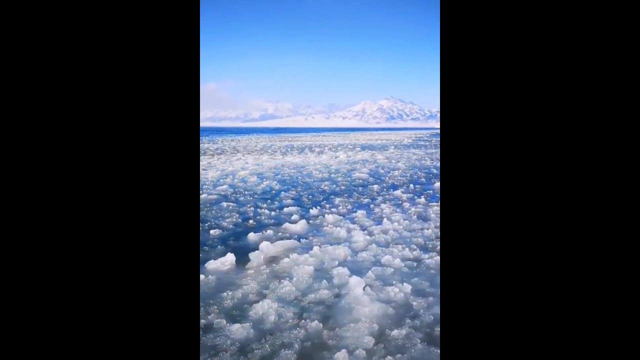 Vídeo mostrando inverno em alguns lugares do mundo
