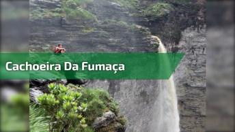Vídeo Mostrando Linda Cachoeira, A Natureza É Maravilhosa!
