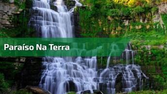 Vídeo Mostrando Lugar Maravilhoso Cercado Por Quedas D'Água E Natureza!