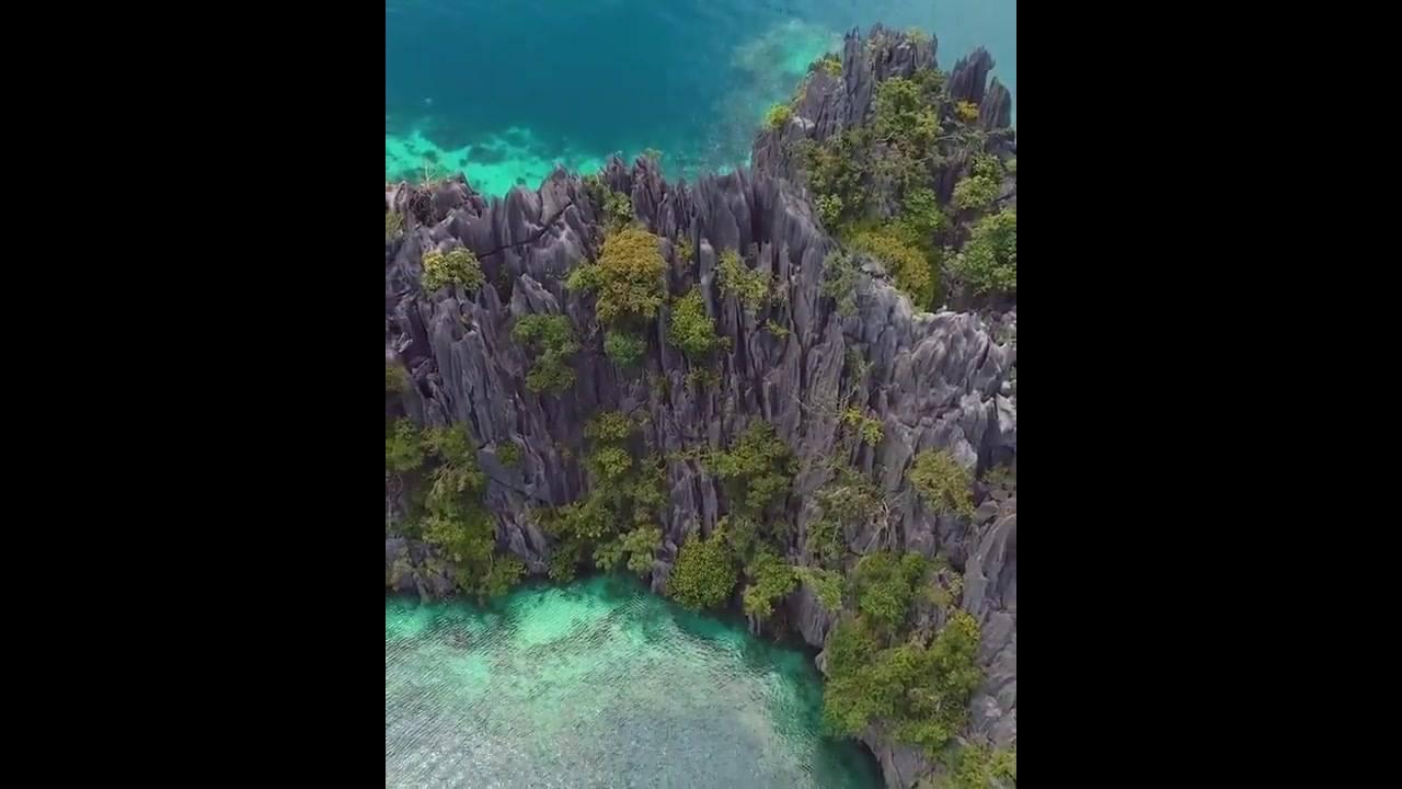 Vídeo mostrando lugar maravilhoso em algum lugar do mundo