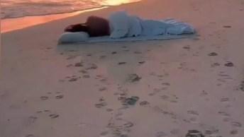 Vídeo Mostrando Nascer Do Sol A Beira Mar Em Bahamas, Veja Que Lindo!