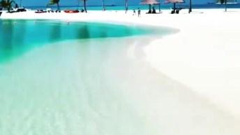 Vídeo Mostrando Pedacinho Da Ilha Maldivas, Um Lugar Encantador!