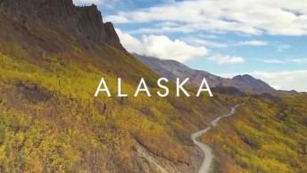 Vídeo Mostrando Pedacinho Das Belezas Do Alasca, Vale A Pena Compartilhar!
