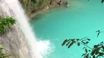 Vídeo Mostrando Pedacinho De Cachoeira Kawasan Na Cidade Cebu-Filipinas!
