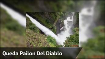 Vídeo Mostrando Pedacinho De Pailon Del Diablo Uma Queda D'Água Incrível!