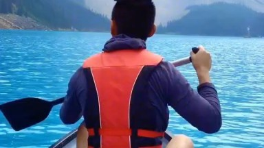 Vídeo Mostrando Pedacinho Do Lago Moraine No Canadá, Veja Que Lindo Lugar!