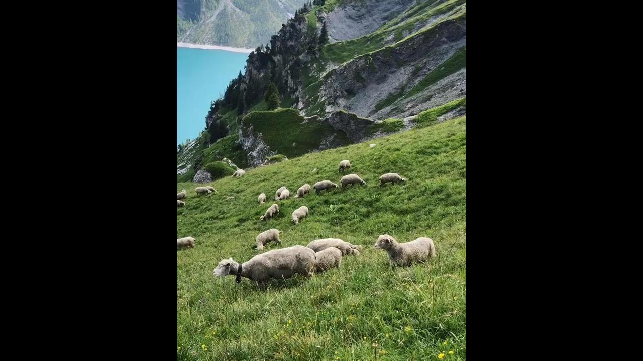 Vídeo mostrando pedacinho dos Alpes Suíços