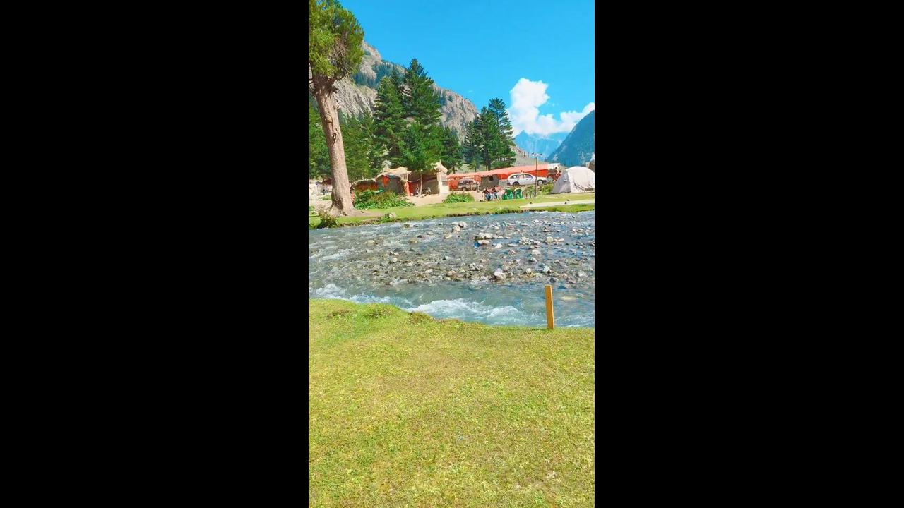 Vídeo mostrando povoado no Paquistão, veja que lugar lindo!!!