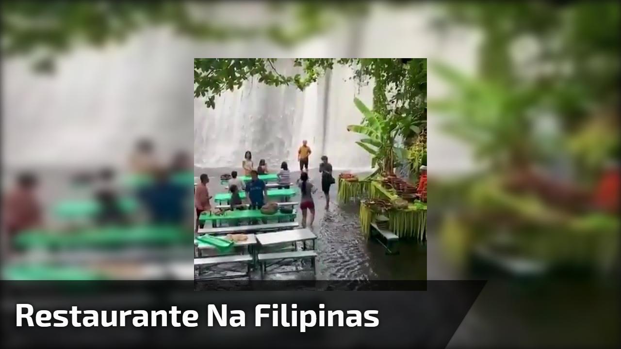 Restaurante na Filipinas
