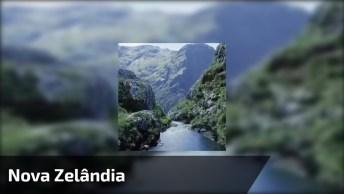 Vídeo Mostrando Um Dos Lugares Mais Bonitos Do Mundo Nova Zelândia!