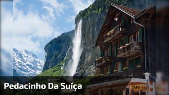 Vídeo Mostrando Um Pedacinho Da Suíça, Veja O Tamanho Desta Pedra!