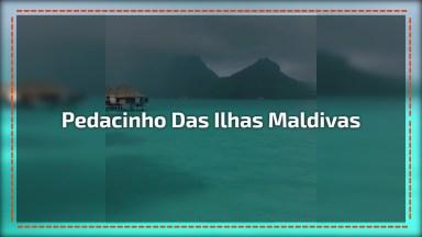 Vídeo Mostrando Um Pedacinho Das Ilhas Maldivas, Vale A Pena Conferir!