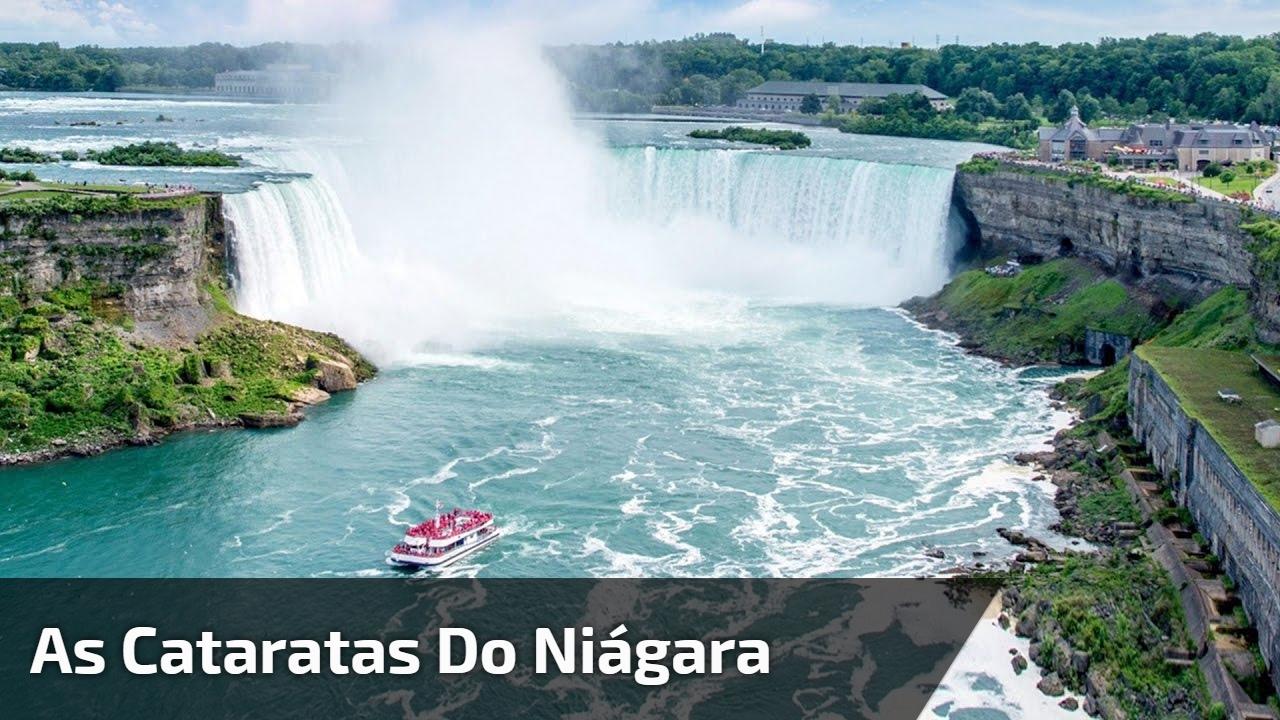 Vídeo mostrando um pouquinho das Cataratas do Niagara, veja que lugar lindo!!!