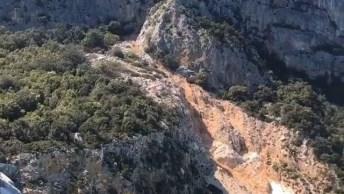 Vídeo Mostrando Um Pouquinho De Cala Goloritzé, Uma Praia Belíssima Na Itália!