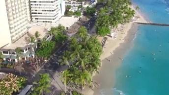 Vídeo Mostrando Um Pouquinho De Honolulu Um Lugar Cheio De Natureza!