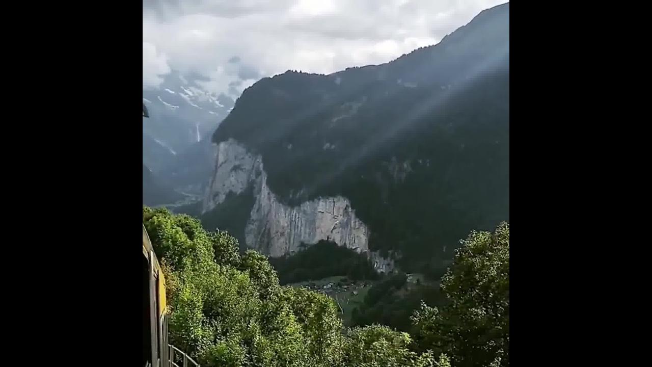 Vídeo mostrando um pouquinho de Lauterbrunen na Suíça