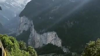 Vídeo Mostrando Um Pouquinho De Lauterbrunen Na Suíça, Veja Que Lindo!