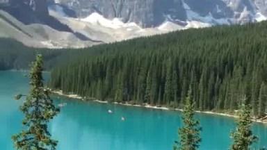 Vídeo Mostrando Um Pouquinho Do Lago Moraine Patrimônio Da Humanidade No Canadá!