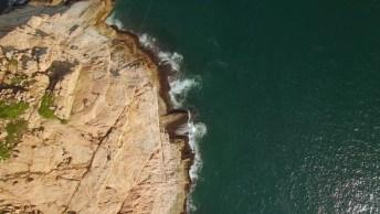 Vídeo Mostrando Uma Ilha Em Algum Lugar Do Mundo, A Natureza É Bela!