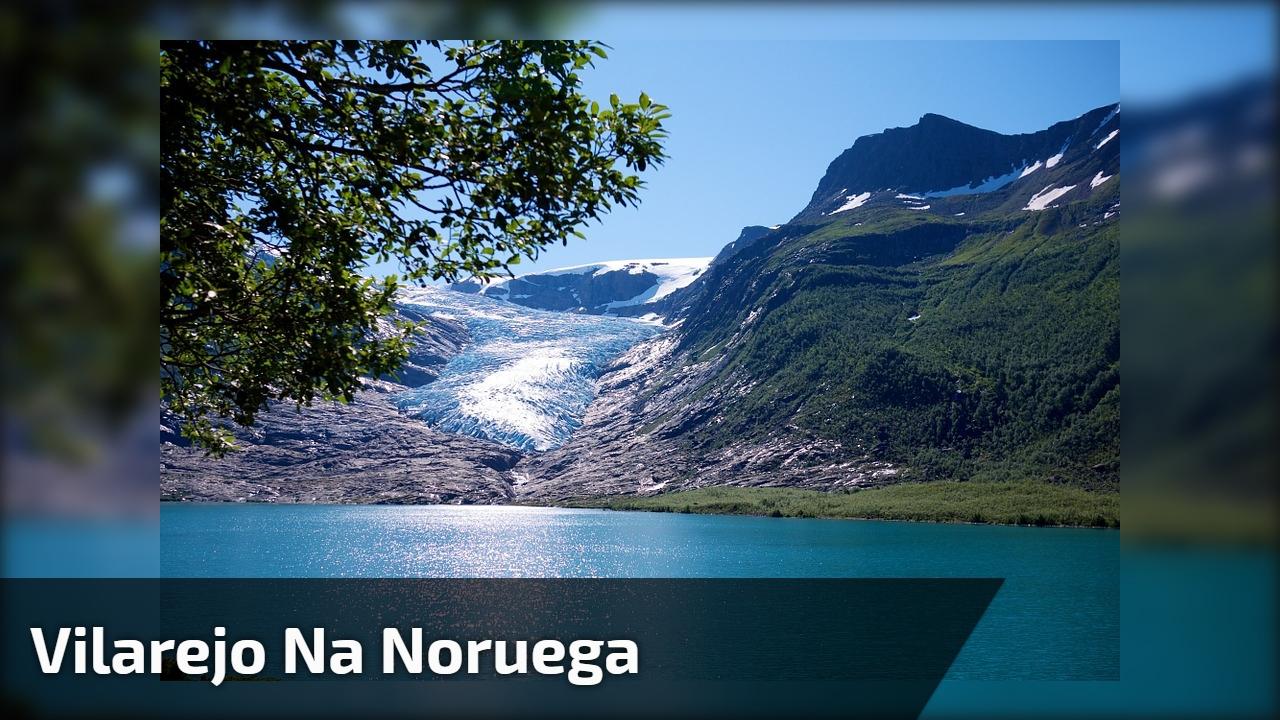 Vilarejo na Noruega