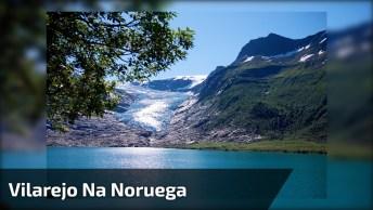 Vídeo Mostrando Vilarejo Na Noruega, Veja Que Lugar Magico!