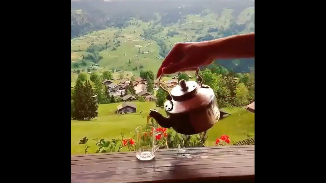 Vilarejo na Suíça