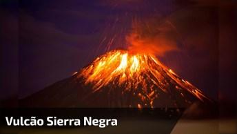 Vulcão Sierra Negra Entrou Em Erupção, Veja Estas Imagens Impressionantes!