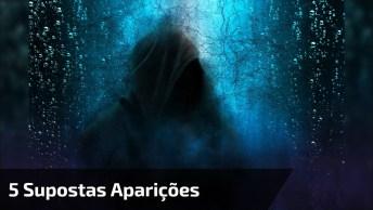 5 Gravações De Supostas Aparições De Fantasmas, Não Assista Se Tiver Medo!