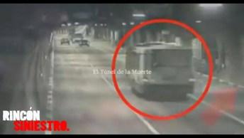 5 Vídeos Captados Em Câmeras De Situações Aterrorizantes, Assustador!