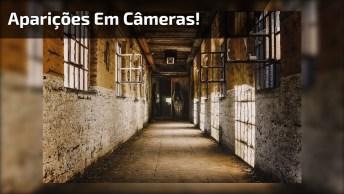 Aparições Em Câmeras Que Vão Te Deixar Arrepiado, Se Tiver Medo Não Assista!