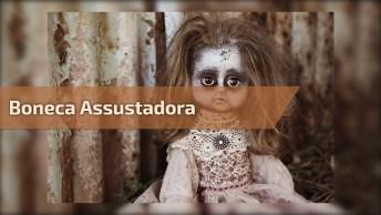Boneca Assustadora, Perfeita Para Colocar No Quintal E Assustar Ladrão!