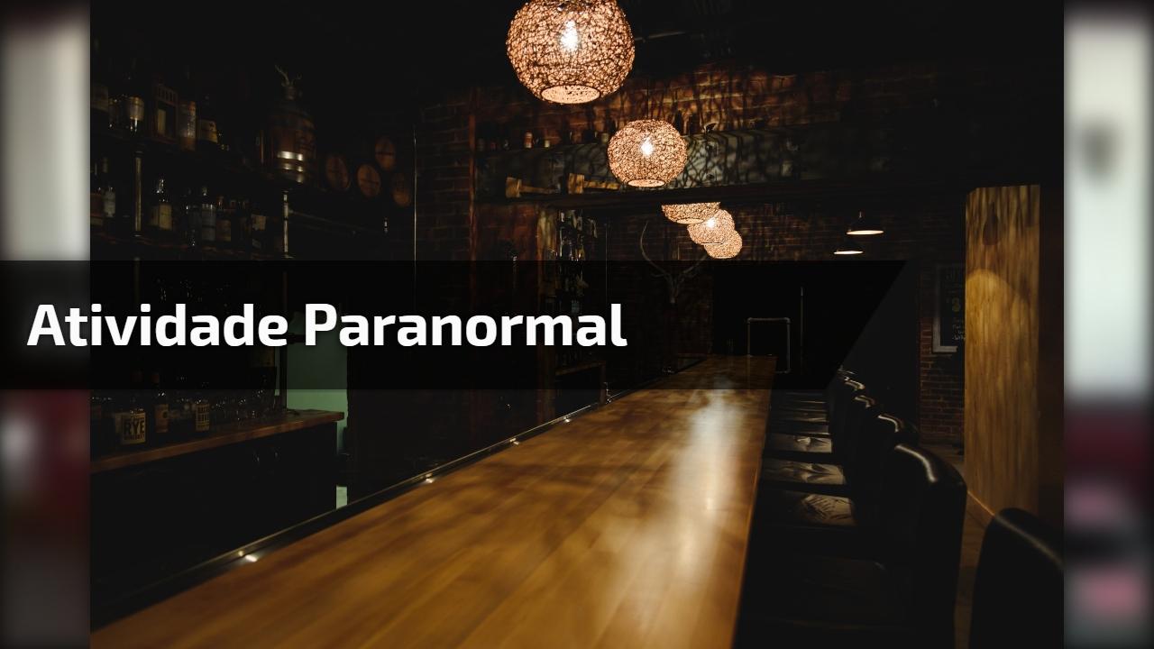 Câmera de segurança de restaurante flagra atividade paranormal!!!