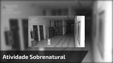 Câmera De Segurança Registra Algo Assustador, Será Algo Sobrenatural?