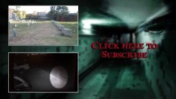 Câmera Flagra Fantasma Em Casa Abandona, Tem Lugares Que Não É Bom Visitar!