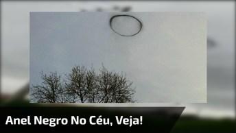 Estranho Anel Negro Aparece No Céu Em Cidade Do México Após Chuva!
