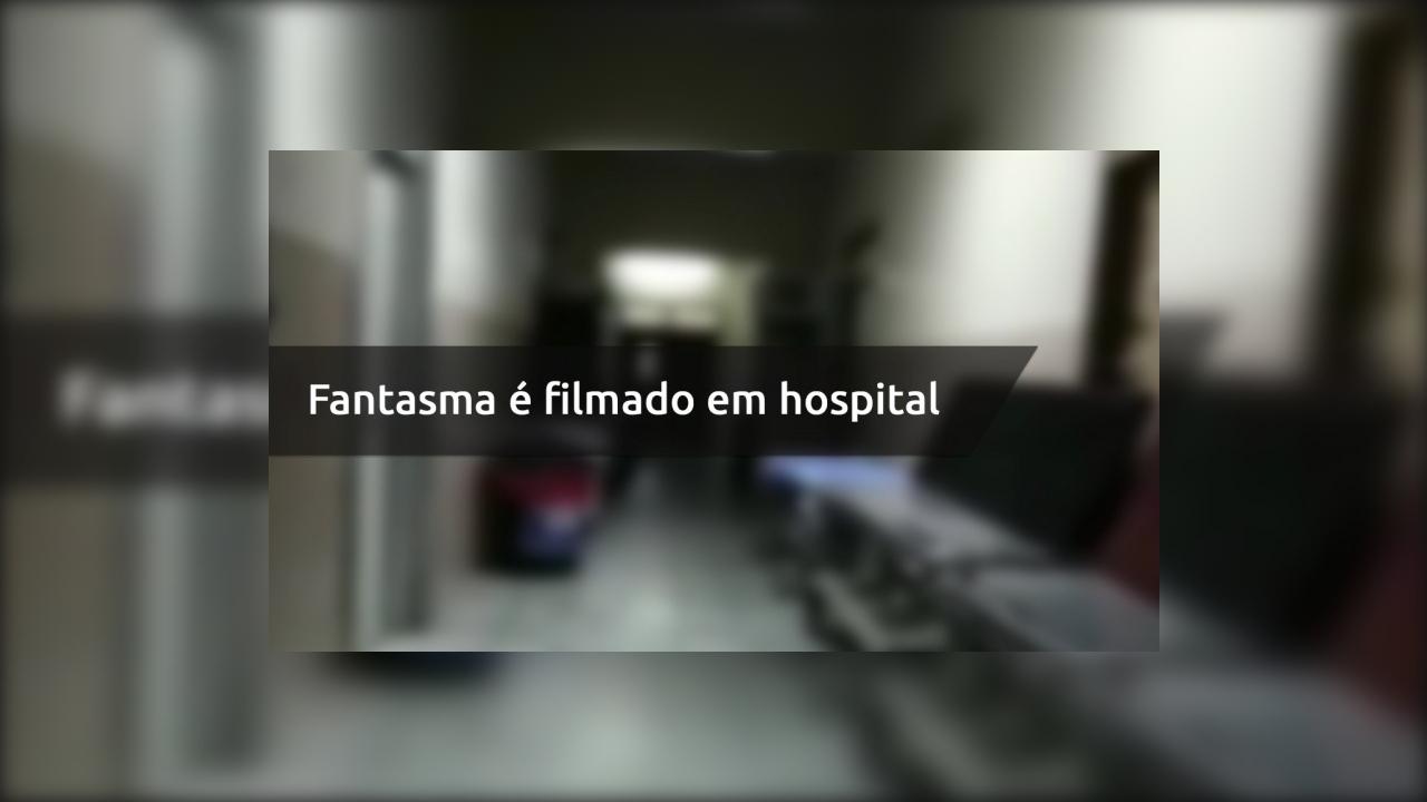 Fantasma é filmado em hospital