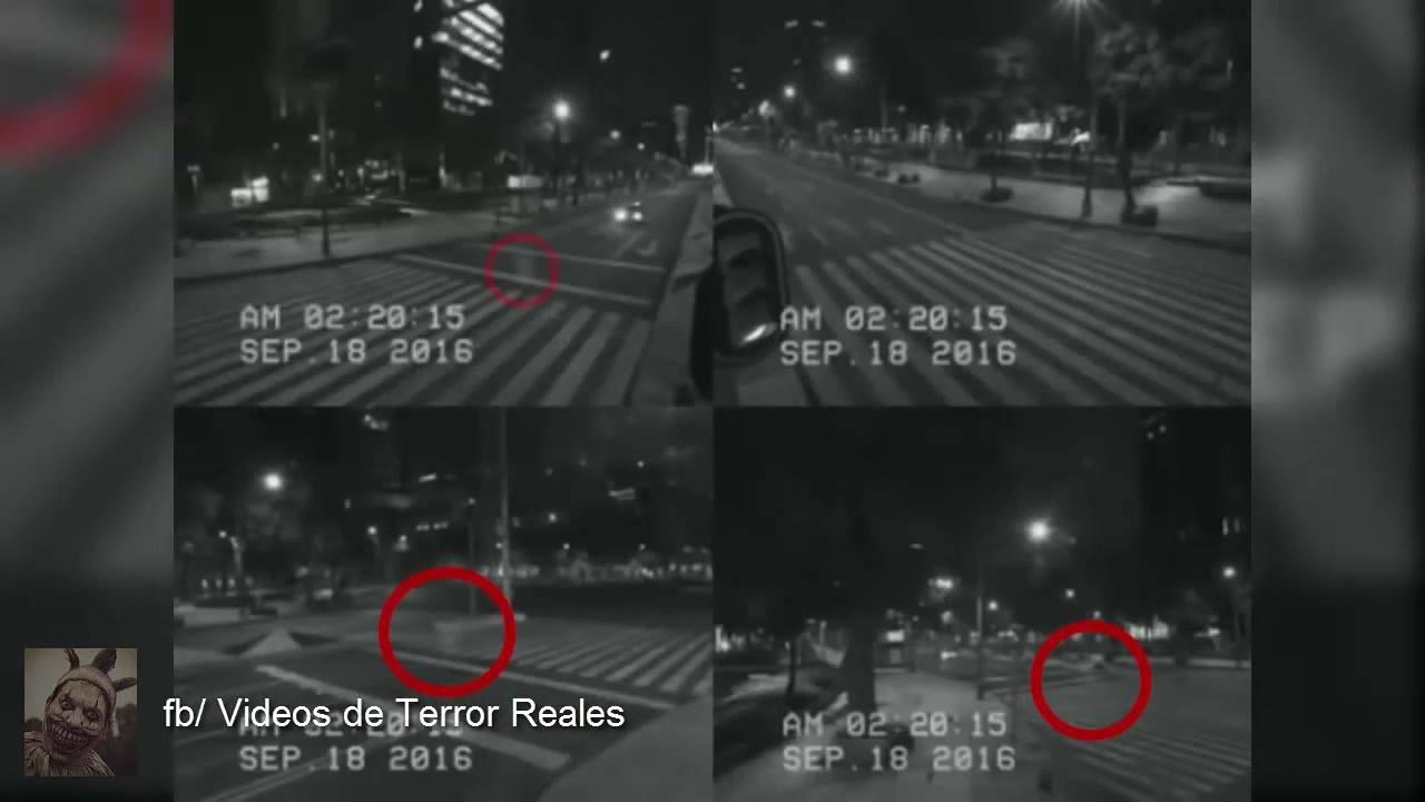 Fantasma é flagrado em câmera de segurança no México