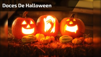 Feliz Halloween! Veja Só Que Doces Legais Para Fazer Na Noite Das Bruxas!