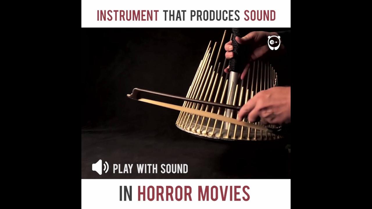 Instrumento para produzir sons de terror